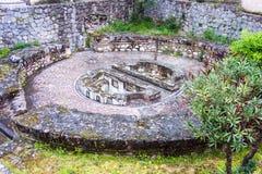 Sito archeologico, Amfissa, Grecia fotografia stock libera da diritti