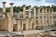 Sito archeologico, Beit Shean, Israele Fotografie Stock