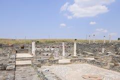 Sito archeologico dello stobi Repubblica Macedone Europa Fotografia Stock Libera da Diritti