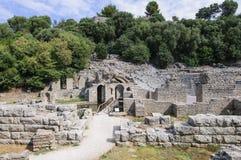 Sito archeologico di butrint Albania Europa Immagine Stock