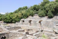 Sito archeologico di butrint Albania Europa Fotografia Stock Libera da Diritti