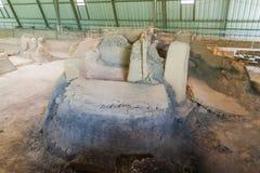 Sito archeologico di Joya de Ceren, EL Salvad fotografia stock libera da diritti