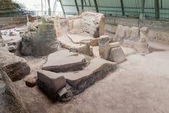 Sito archeologico di Joya de Ceren, EL Salvad immagini stock libere da diritti