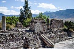 Sito archeologico di Mitla Immagine Stock Libera da Diritti