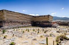 Sito archeologico di Mitla Fotografia Stock