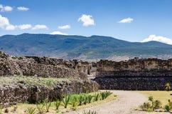 Sito archeologico di Mitla Fotografia Stock Libera da Diritti