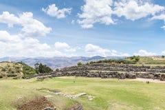 Sito archeologico di Sacsayhuaman, Cusco, ¹ di Perà Immagini Stock