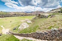 Sito archeologico di Sacsayhuaman, Cusco, ¹ di Perà Fotografie Stock Libere da Diritti