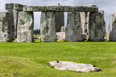Sito archeologico Inghilterra di Stonehenge fotografie stock