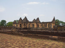 Sito archeologico khmer di Prasat Muang Tam nella provincia di Buriram, Tailandia Fotografie Stock