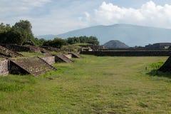 Sito archeologico messicano famoso e majestuous Immagine Stock
