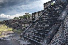 Sito archeologico messicano famoso e majestuous Fotografie Stock Libere da Diritti