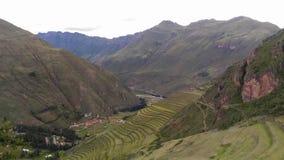 Sito archeologico, valle sacra, Pisac, Perù, 02/07/2019 fotografia stock libera da diritti