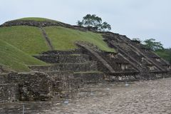 Sito archeologico Veracruz Messico di EL Tajin immagini stock libere da diritti