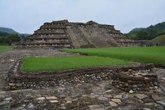 Sito archeologico Veracruz Messico di EL Tajin fotografie stock libere da diritti