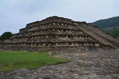 Sito archeologico Veracruz Messico di EL Tajin fotografia stock