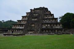 Sito archeologico Veracruz Messico di EL Tajin fotografia stock libera da diritti