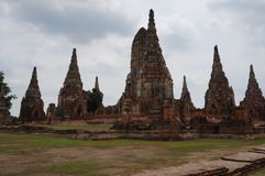 Sito Bangkok del patrimonio mondiale di Ayutthaya Fotografia Stock