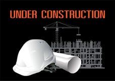 Sito in costruzione di costruzione royalty illustrazione gratis