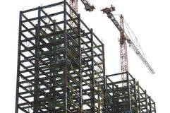 Sito del campo della costruzione Fotografia Stock