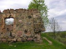 Sito del castello antico Fotografia Stock Libera da Diritti