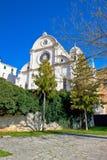 Sito del patrimonio mondiale dell'Unesco della cattedrale di Sibenik Fotografie Stock Libere da Diritti