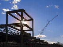 Sito della costruzione di edifici Fotografie Stock