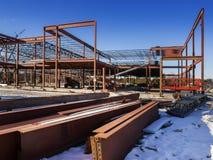 Sito della costruzione di edifici Fotografia Stock Libera da Diritti