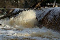 Sito della diga di Rocky Mount North Carolina del parco di battaglia Fotografia Stock Libera da Diritti