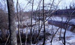 Sito della diga di Rocky Mount North Carolina del parco di battaglia Immagine Stock