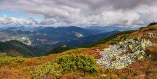 Sito della montagna Fotografie Stock