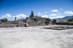 Sito di Archaeoligical di Mitla Fotografia Stock Libera da Diritti