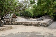Sito di Azteca Fotografia Stock