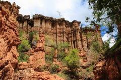 Sito di età della pietra di Isimila Fotografia Stock