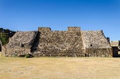 Sito di Monte Alban Archaeological Fotografia Stock Libera da Diritti