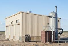 Sito industriale, attrezzatura del compressore Fotografia Stock