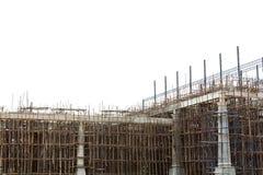 Sito non finito della costruzione di edifici Fotografia Stock Libera da Diritti
