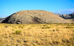 Sito storico dello stato della roccia di indipendenza immagine stock