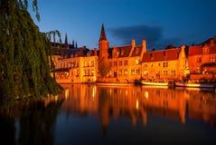 Sito storico di Bruges, Belgio fotografia stock libera da diritti