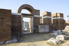 Sito storico di St John a Smirne Fotografie Stock