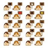 Sito Web delle icone Immagini Stock Libere da Diritti