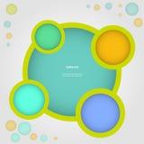Sito Web infographic, struttura di progettazione di vettore Fotografia Stock