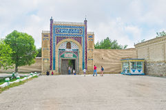 The Sitorai Mokhi-Khosa Palace Gate royalty free stock photos