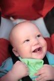 sitta barnvakt stroller Fotografering för Bildbyråer