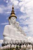 Sittande statu för Buddha 6 Arkivfoton