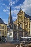 Sittard-Geleen, Netherlands. View of St. Michielskerk church on Sittard market square, Netherlands Royalty Free Stock Photos