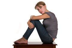 Sitting Royalty Free Stock Image