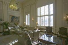 Sitting area of historic Mayflower Hotel, Washington D.C. Royalty Free Stock Photography
