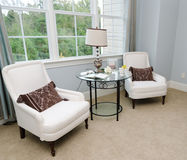 Sitting area in house bedroom Stock Photos