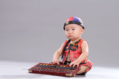 Sitting Baby Stock Photos